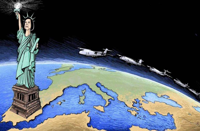La luz de la libertad #ElZarpazo por @GuillermoEseA #libertad #estatuadelalibertad #españa #tropasespañolas #eeuu …