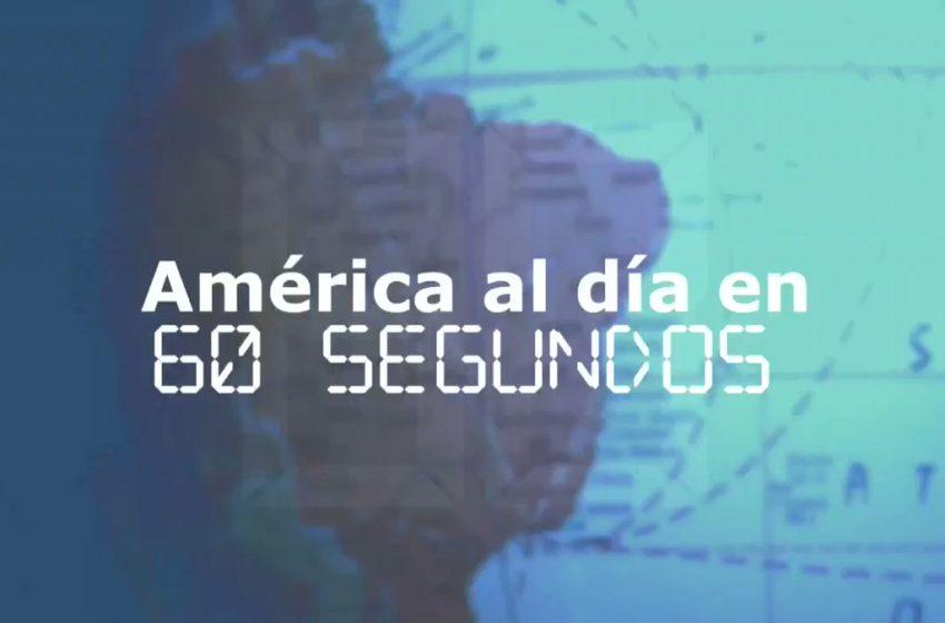 #EFETV | Te contamos en 60 segundos cómo transcurrió el 20 de agosto en América.   Toda la información en Efeservicios: …