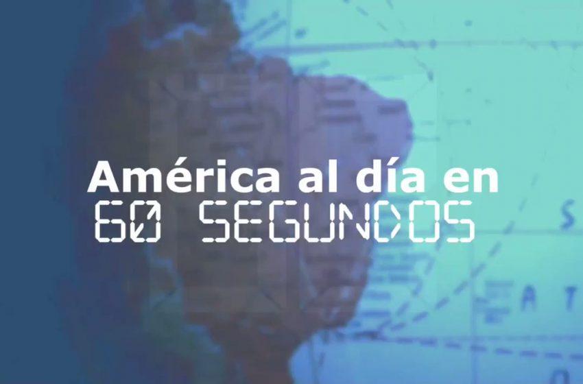 #EFETV | Te contamos en 60 segundos cómo transcurrió el 27 de agosto en América  Toda la información en Efeservicios:  …