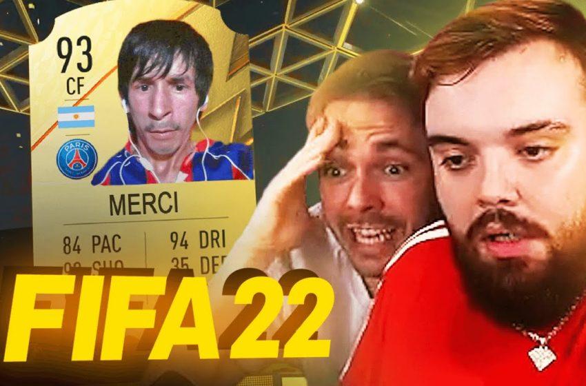 ABRIENDO SOBRES DEL FIFA *SALE MAL* | PACK OPENING FIFA 22
