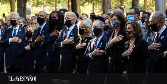 #20añosdel11S | Nueva York recuerda a las víctimas de los atentados del 11-S con un solemne acto 20 años después …