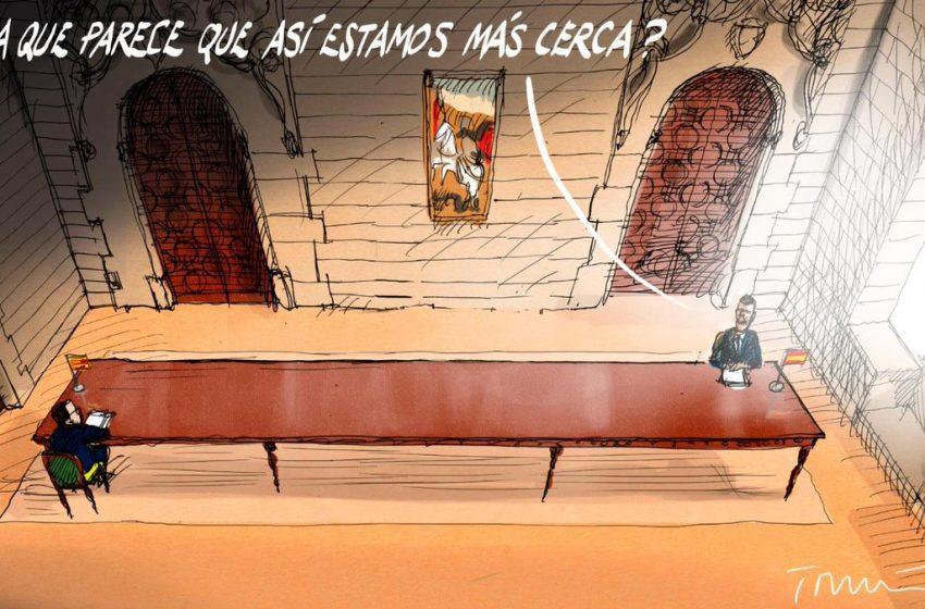 Más cerca #ElZarpazo por @donTomasSerrano #españa #cataluña #pedrosanchez #perearagones #mesadialogo #independentismo …