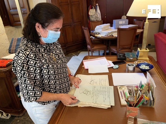 ENTREVISTA | Esther Cruces, la directora del Archivo General de Indias de Sevilla.  Por Manuel Rus  …