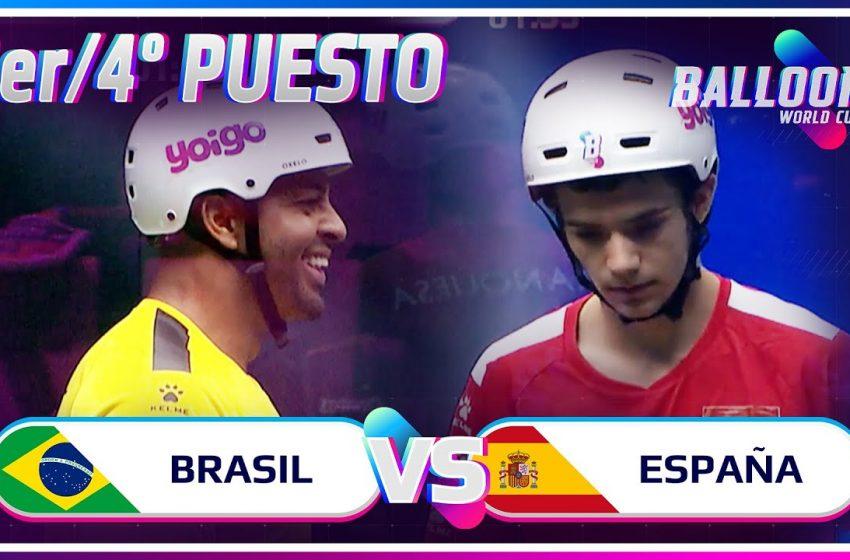 BRASIL VS ESPAÑA | 3er/4º PUESTO BALLON WORLD CUP