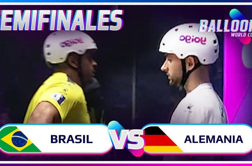 BRASIL VS ALEMANIA | SEMIFINAL BALLOON WORLD CUP