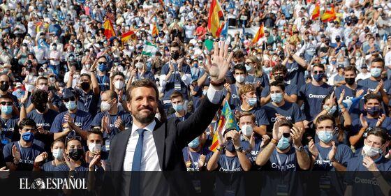 El último barómetro del Centro Sociológico de Investigaciones sitúa al PSOE con un 28,5% del voto frente al 22,1% del Pa…