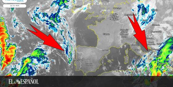 #Meteorología | Llega el ciclón extratropical Ballos al Mediterráneo: éste es el riesgo para España, vía @Ciencia_EE …