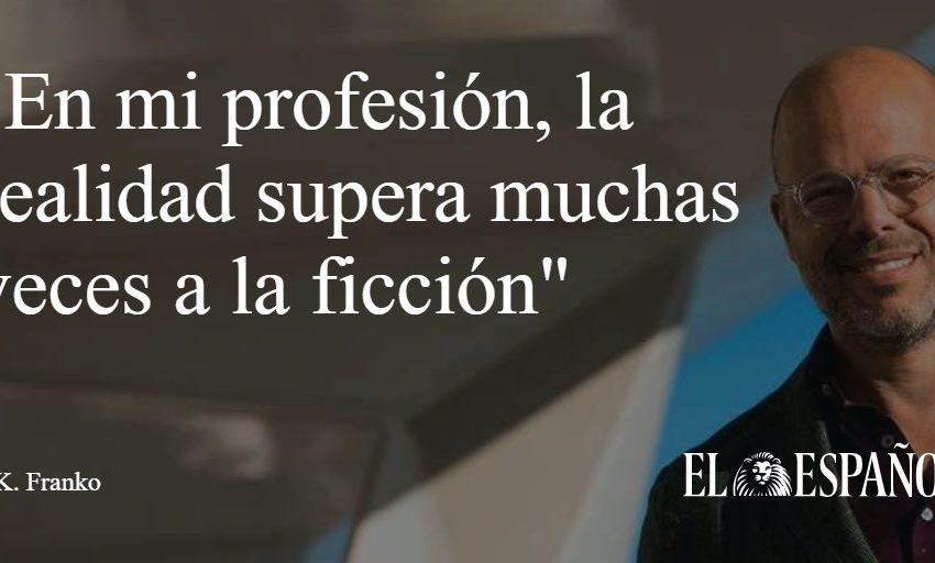 #Entrevista   El escritor J. K. Franko presenta en nuestro país Ojo por ojo (Planeta), la primera parte de su trilogía …