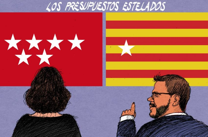 Presupuestos estelados #ElZarpazo por @donTomasSerrano #españa #gobiernoespaña #cataluña #madrid #perearagones #diazayus…