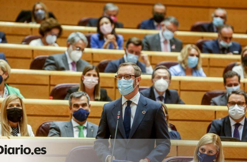 La presión del PP impide que el Senado apruebe una declaración institucional por el final de ETA  Por @ikaitor e @irecr…